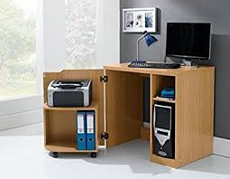 home office computer workstation. Hideaway Computer Workstation Desk For Home Office Student Use Oak Photo Details - These Gallerie We C