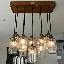 chandeliers mason jar chandelier pendant light fixture beautiful