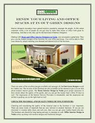 Renew Home Designs Renew Your Living And Office Spaces At In Out Green Designs