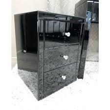 black bedside table glass bedside table black black bedside table nz