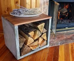 concrete woodworking firewood firewood holder log holder concrete log holder