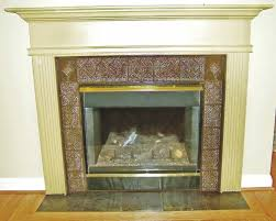 decorative fireplace tiles