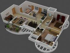 25 more 3 bedroom 3d floor plans 3d bedrooms and house