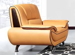 Yellow leather chair Rand Yellow Leather Chair Mustard Dining Chairs Top Grain Yellow Leather Chair Idego Yellow Leather Accent Chair Wing Back Living Room Furniture Sofa For