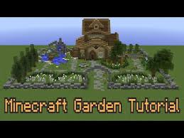 how to improve your minecraft garden play