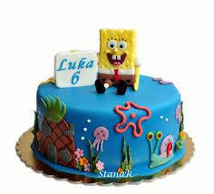 Spongebob Cake Cakecentralcom