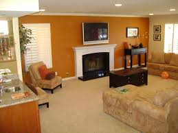 ... Incredible Accent Wall Colors For Your Interior Design Ideas :  Astounding Living Room Decoration With Brown
