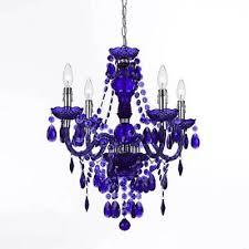 af lighting 8681 4h naples four light mini chandelier purple