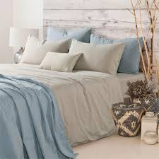 bedding set 4pcs hotel 100 washed cotton solid beige color duvet cover set ed sheet set queen king free fast khaki in bedding sets from home