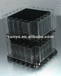 Eyeshadow Display Stand Extraordinary Black Acrylic Revolving Display Stand For Eyeshadow China Mainland