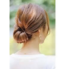 簡単ヘアアレンジでこなれ見え ロングボブショートのヘアアレンジ