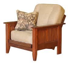 chair futon. big tree canterbury chair size oak futon