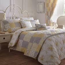 dreams ds yellow cotton patsy kingsize duvet set