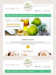 Essential Oil Website Design Website Design 63670 Html5 Css Code Custom Website Design