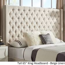 Naples Wingback Button Tufted Tall Headboards by iNSPIRE Q Artisan - Free  Shipping Today - Overstock.com - 25504309