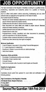 Financial Assistant Job Description Financial Assistant TAYOA Employment Portal 2