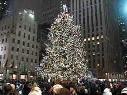 Christmas 2008 New York City! Rockefeller Center Christmas Tree! Macy`s!