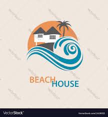Beach House Logo Design Beach House Logo