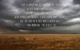toni morrison the bluest eye book review by kamile macenskyte  the story of pecola an african american girl who even in the deepest maddest days was only focused on one and only thought the thought of pretty