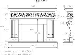 standard height for fireplace mantel junsaus
