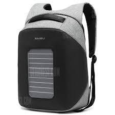 <b>Baibu</b> Solar Charging <b>Anti</b>-theft <b>Man Backpack</b>   Gearbest