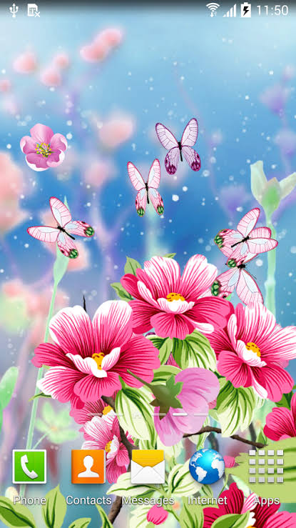 animated mobile phone wallpapers flowers
