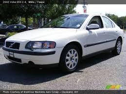 volvo s60 2002 white. 2002 volvo s60 24 in white