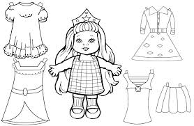 Barbie Doll Coloring Pages Barbie Doll Coloring Pages How To Draw