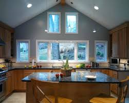 lighting cathedral ceilings ideas. Amazing Kitchen Lighting Design Vaulted Ceiling Ideas Plain With Lights Image For Crown Molding Trends And Cathedral Ceilings E