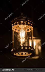 Kronleuchter Dunklen Innenraum Mit Lampe Baudenkmal