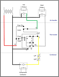 home ac compressor wiring diagram 4 wire thermostat blue wire at House Thermostat Wiring Diagrams