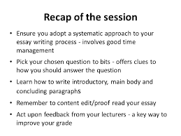 the process of writing an essay writing an essay does not simply 15 recap