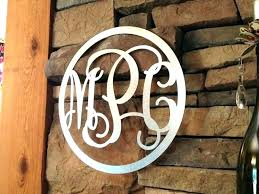 wooden monograms hanging monogram letters for wall decals large fron wooden monograms