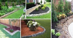 15 wonderful garden edging ideas with