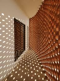 Perforated Brick Wall Design House 53 A Architects