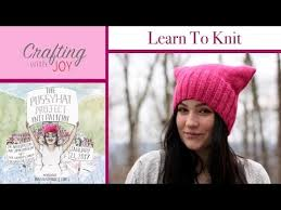 Pussyhat Project Pattern Awesome How To Knit The Pussy Hat Project YouTube