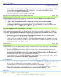 Health Care Executive Resume Sample - Page 2