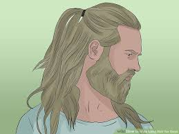 4 Ways To Style Long Hair For Guys Wikihow