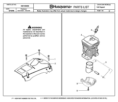 husqvarna 142 parts diagram husqvarna 142 2007 01 chainsaw clutch cover spare parts diagram