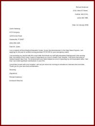 Simple Cover Letterpleples Sample Doc For Receptionist Letter For