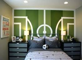 ... Soccer Decor For Bedroom Theme Teen Boy Throughout Plans 16 ...