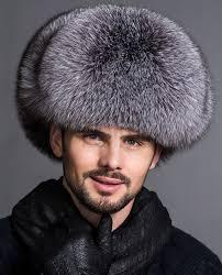 real fur coats jackets men s silver blue fox fur trapper hat sku ffhafo870 ping fur fashions