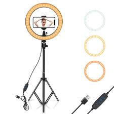 Big Ring Light With Stand 26 Inch Big Ring Light For Tiktok Viral Video Shopgobest