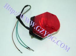 china yog motorcycle spare parts rear back light taillight plete cg125 gn125 bajaj tvs ct100 star ax4 100 akt125 italika keeway tayo haojue horse wy