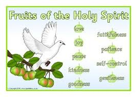 Sparklebox Height Chart Fruits Of The Holy Spirit Posters Sb11403 Sparklebox