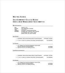 Agenda Sample Format - Unitedijawstates.com