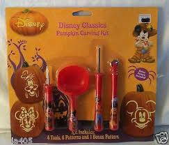 disney pumpkin carving kit. disney pumpkin carving kit 4 tools 7 stencil pattern halloween decorations