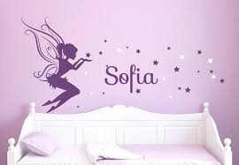 wall decals for girls rooms baby girl room decor fairy wall decal w blowing stars vinyl