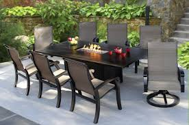 patio fire pit dining set off 67