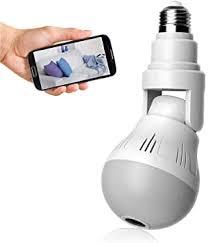 WiFi Light Bulb Camera 1080P HD, Wireless 360 ... - Amazon.com